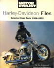 Motorcyclist's Harley-Davidson Files by Motorcyclist Magazine 1968-2002 roadtest